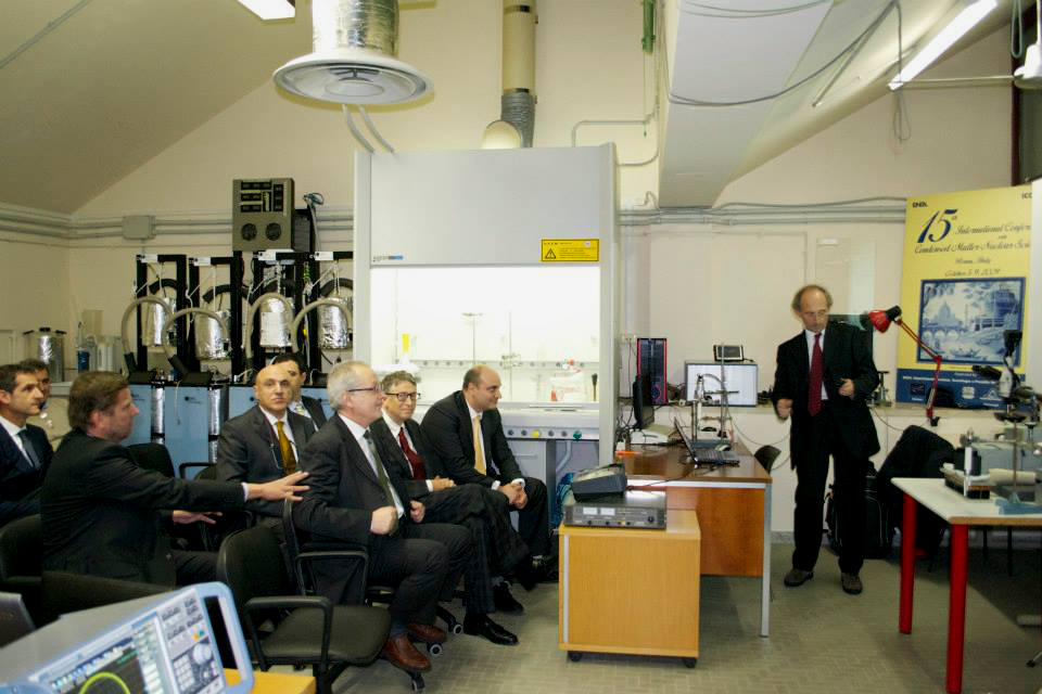 Bill Gates Briefing On Cold Fusion at Italy's prestigious ENEA lab in Frascati  12 Nov. 2014
