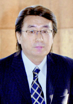 Hidetsugu Ikegami is a Japanese physicist. He is professor emeritus of Nuclear Physics at Osaka University, where he has been director of the Research Center for Nuclear Physics