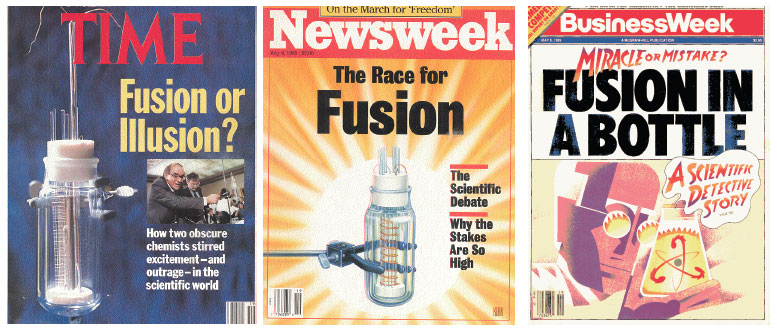 COLD FUSION magazine covers 1989 - conspiracy exposed